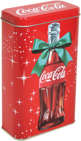 Coca Cola - 115x60x190 h. - Metal Box - Rectangular - Promotion