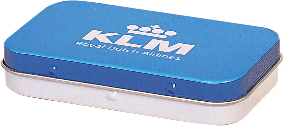 Klm - 97x58x22 h. - Metal Box - Rectangular - Promotion