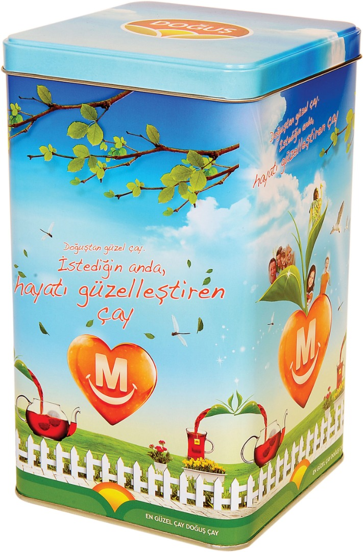 Doğuş – Migros - 120x120x210 h. - Metal Box - Square - Promotion