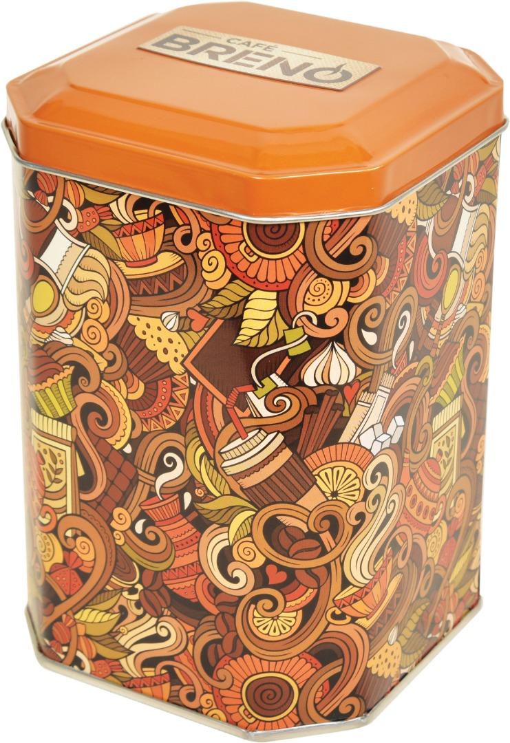 Cafe Breno - 105x105x150 h. - Metal Box - Octagonal - Food – Coffee