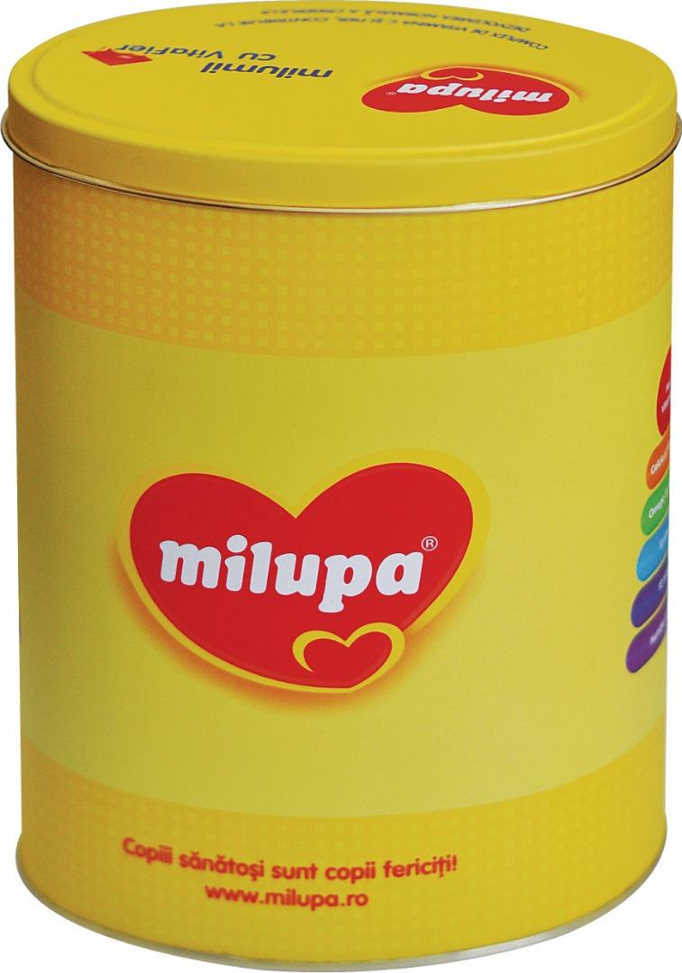 Milupa - 145x105x187 h. - Metal Box - Oval - Food
