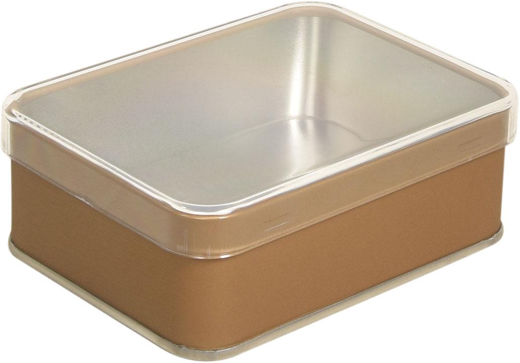 Plastik Kapaklı - 100x75x35 h. - Metal Box - Rectangular -