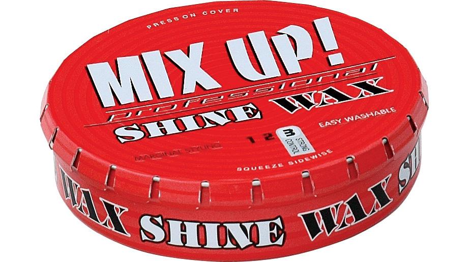 Mix up - 92 çapx23 h. - Metal Teneke Kutu - Yuvarlak Click clack kapaklı - Kozmetik