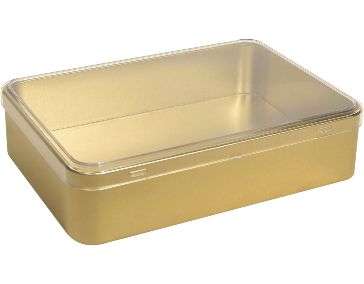 Plastik Kapaklı - 190x135x45h. - Metal Box - Rectangular -