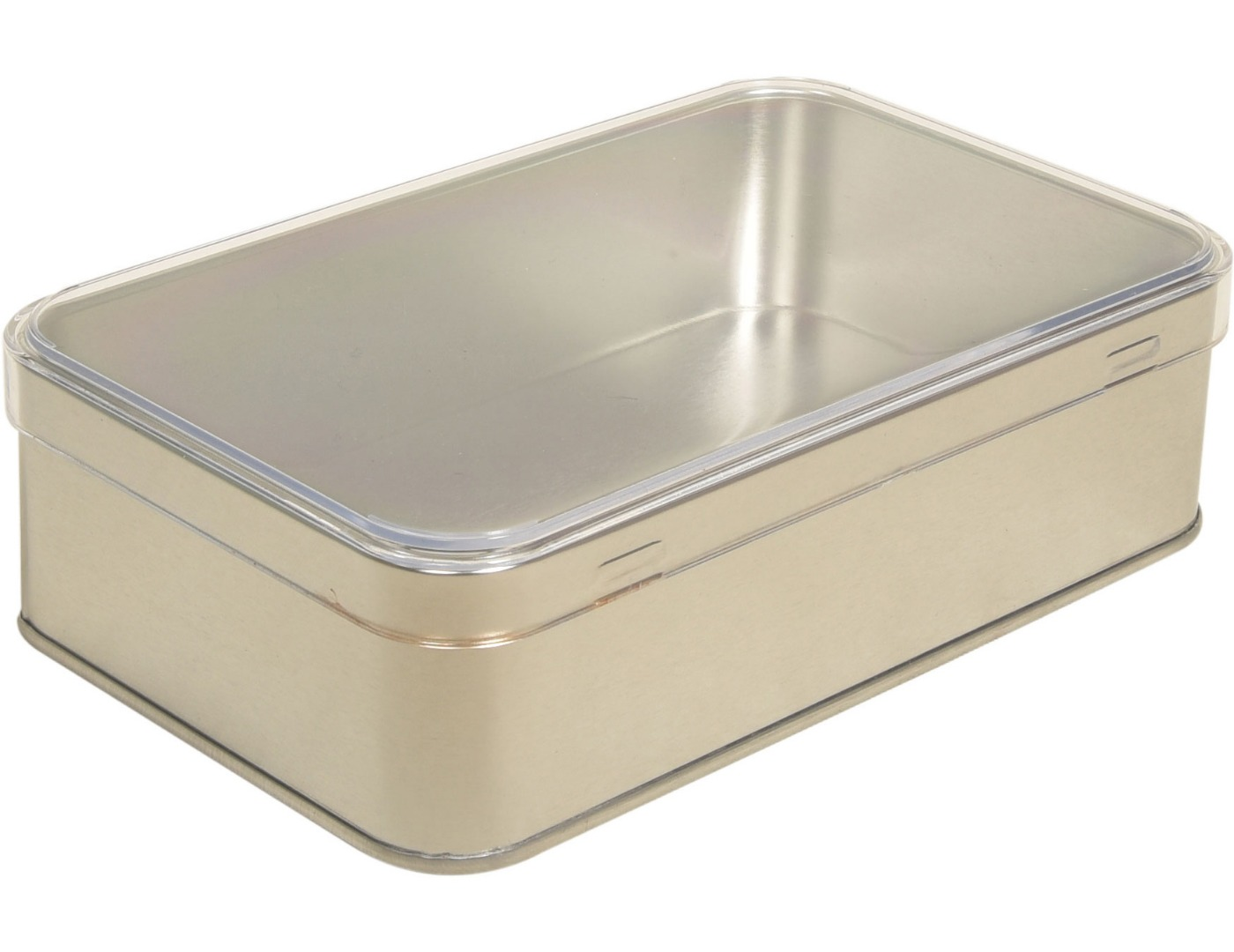 Plastik Kapaklı - 170x105x35 h. - Metal Box - Rectangular -