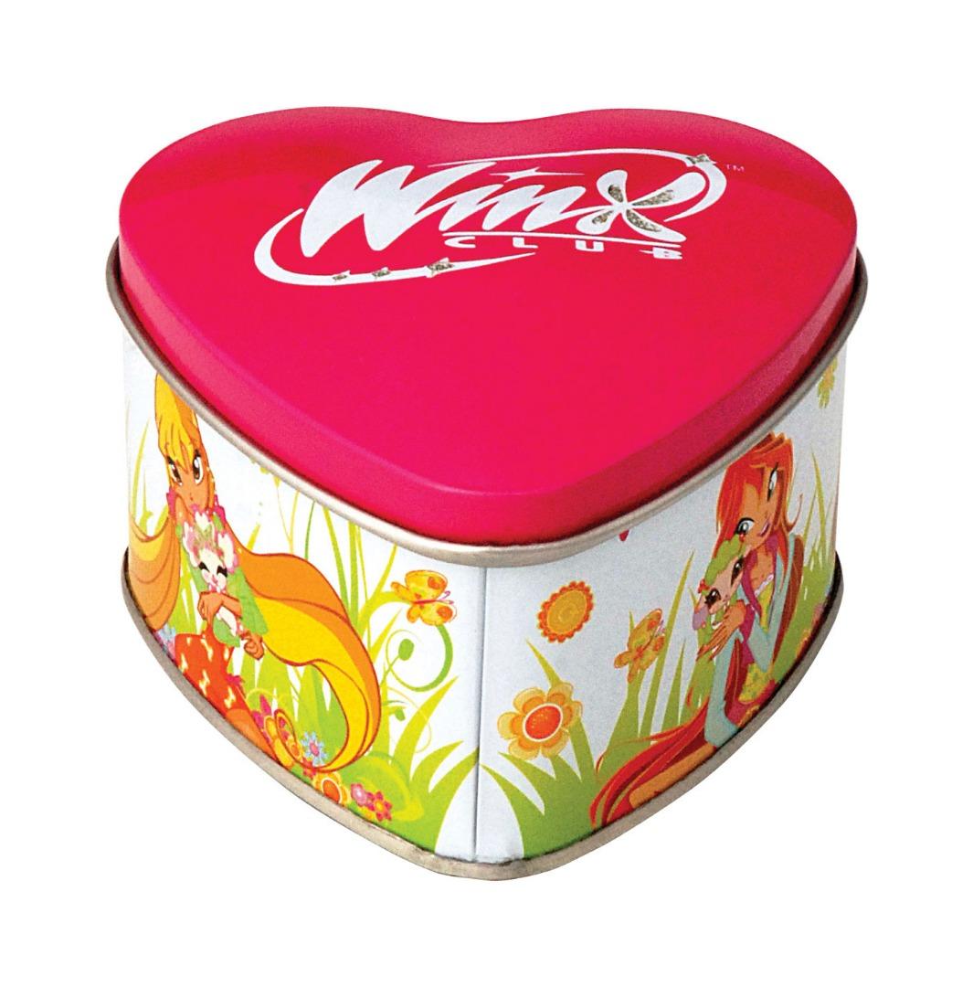 Winx - 92x88x55 h. - Metal Box - Heart - Promotion