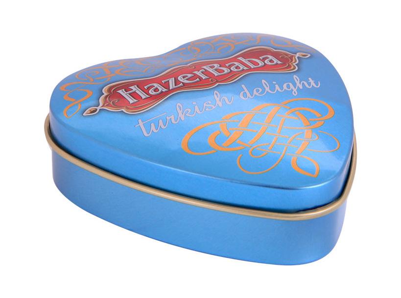 Hazerbaba - 92x88x25 h. - Metal Box - Heart - Food – Delight