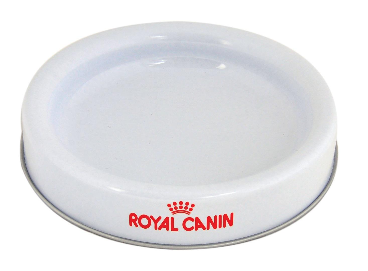 Royal - 134 çapx24 h. - Metal Teneke Kutu - Yuvarlak - Mama Kabı