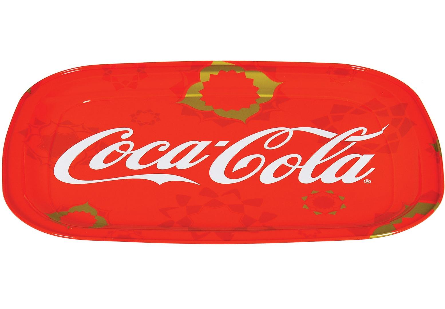 Coca Cola - 304x234 - Metal Tray - Rectangular -
