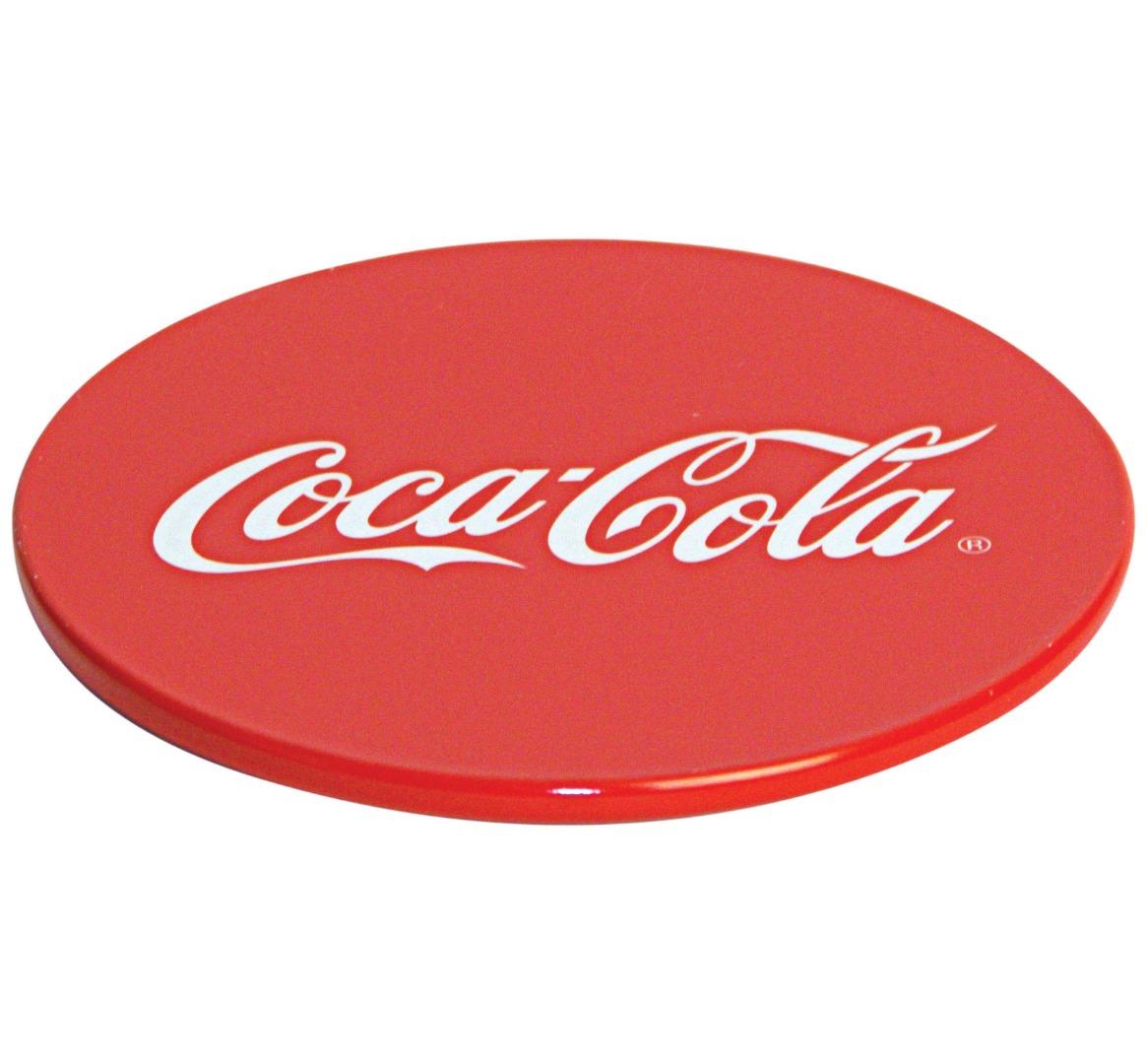 Coca Cola - Dia.89 - Metal Coasters - Round -